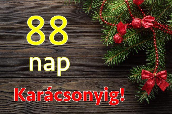 88 nap karácsonyig